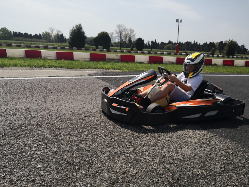 Session karting adulte